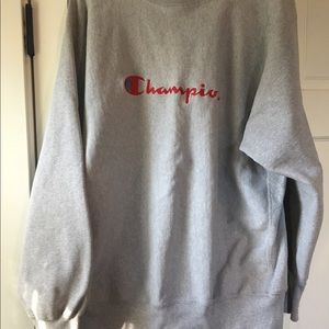Champion Embroidered sweat shirt